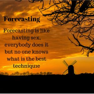 Forecasting method