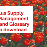 2700 Plus Supply Chain Management Terms & Glossary