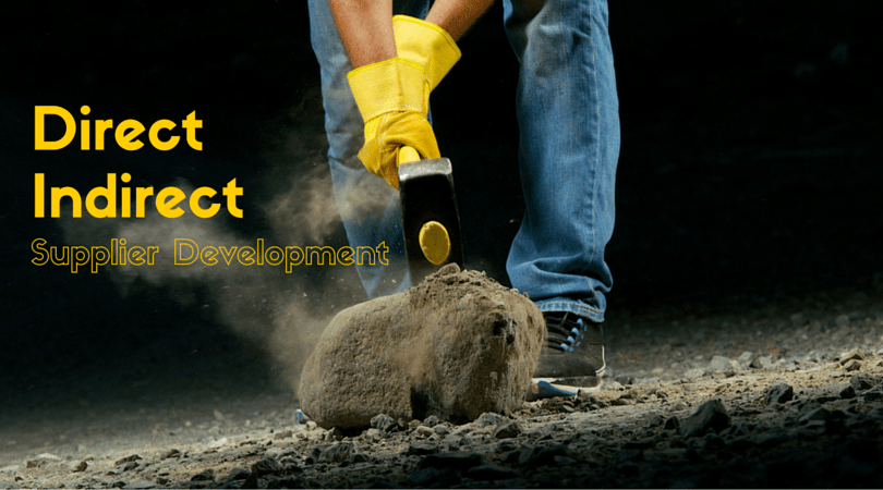 What is Direct and Indirect Supplier Development Process?