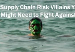 7 Supply Chain Risk Villains You Might Need to Fight Against [Infographic]