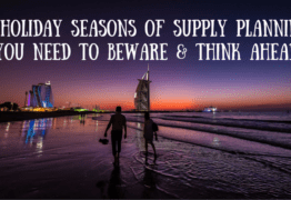 3 Holiday Seasons of Supply Planning You Need to Beware & Think Ahead Of