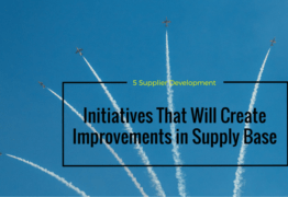 5 Supplier Development Initiatives to Create Improvement Projects