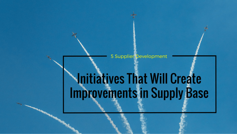 Supplier Development Initiatives