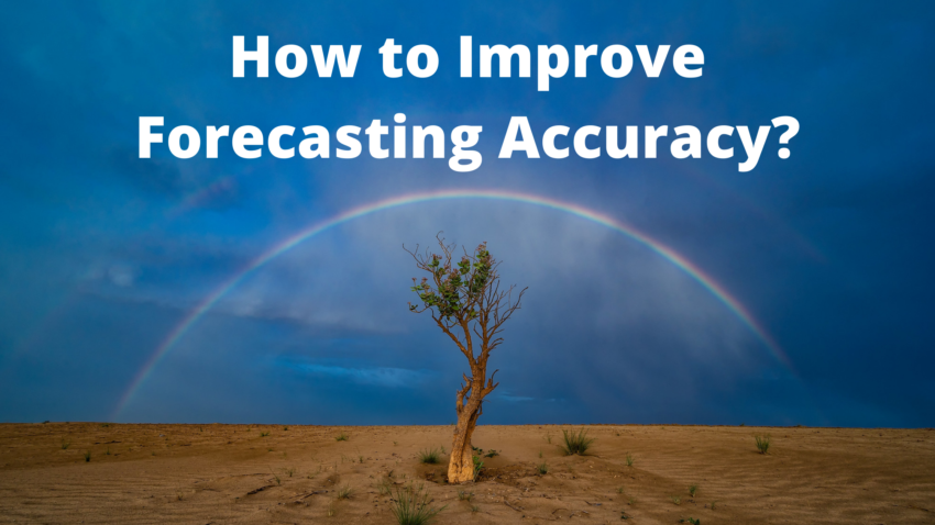 Improve Forecasting Accuracy?