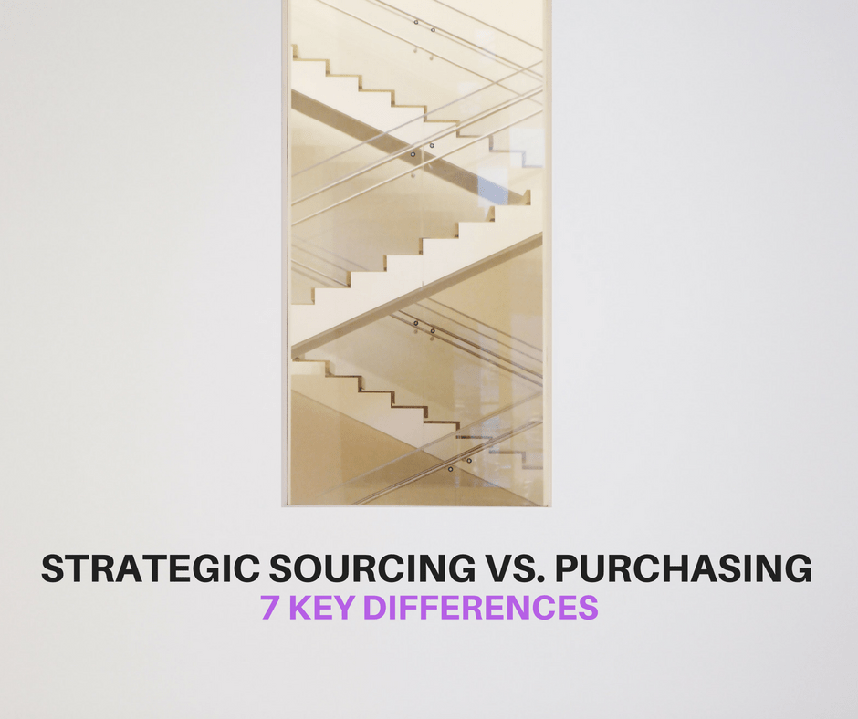 STRATEGIC SOURCING VS. PURCHASING – 7 KEY DIFFERENCES