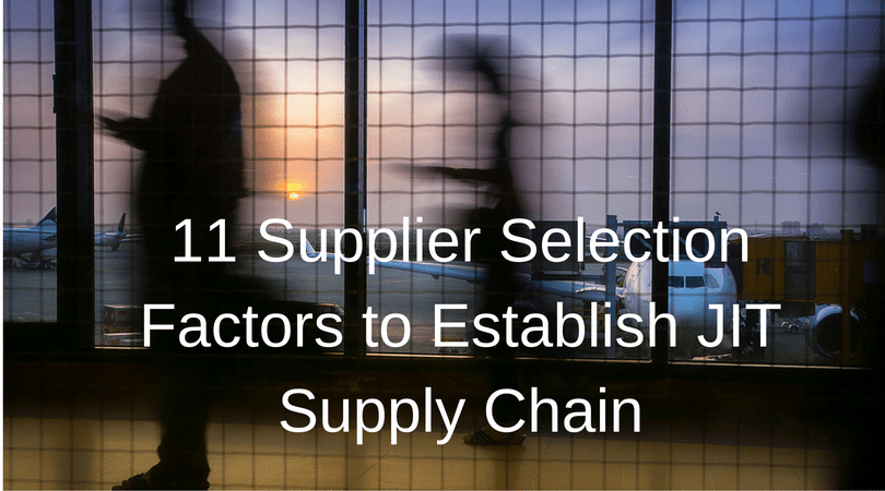 JIT Supply Chain