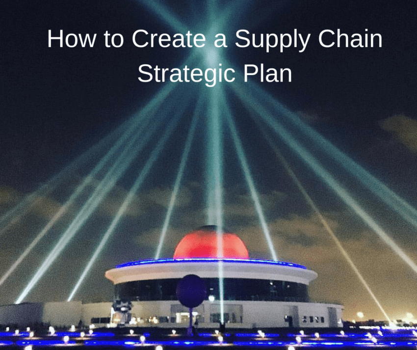 How to Create a Supply Chain Strategic Plan