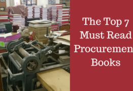 The Top 7 Must Read Procurement Book for Supply Chain Professionals