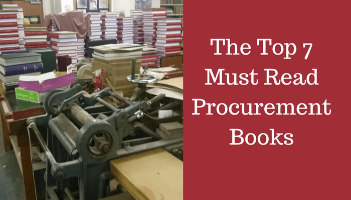 The Top 7 Must Read Procurement Book for Supply Chain