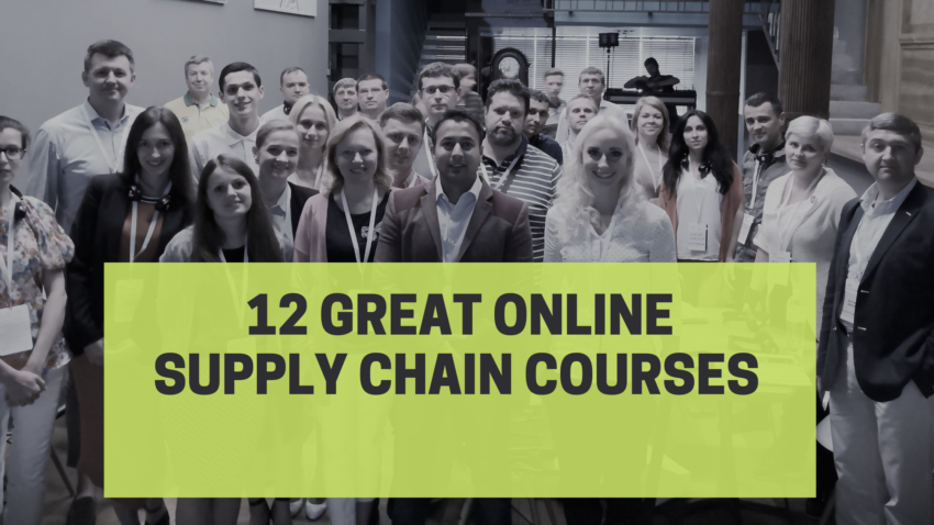 online supply chain management courses