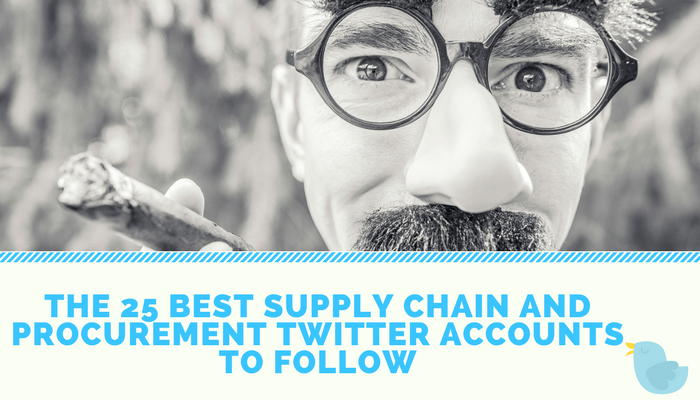 The 25 Best Supply Chain and Procurement Twitter Accounts to Follow