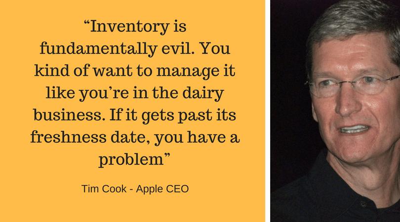 Tim Cook Inventory