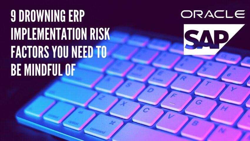ERP implementation risk