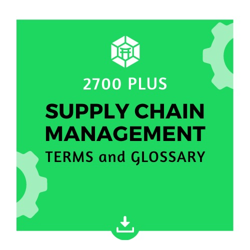 supply chain terms