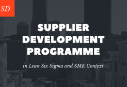 Supplier Development Programme in Lean Six Sigma and SME Context