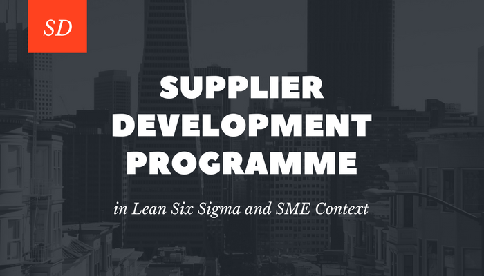 Supplier Development Programme