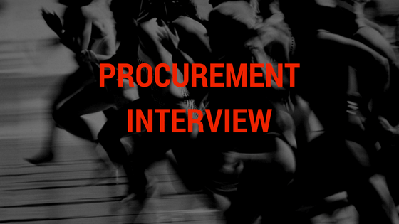 Procurement Interview Questions