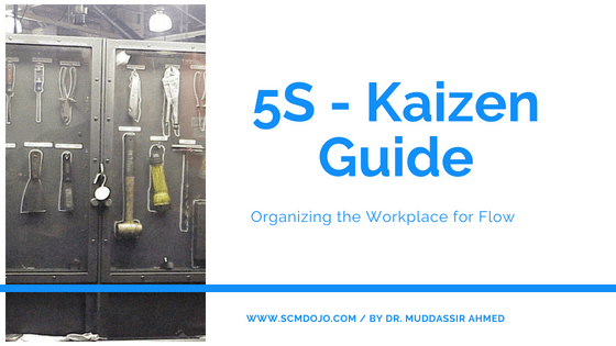 5S Kaizen Guide: Organizing the Workplace for Flow