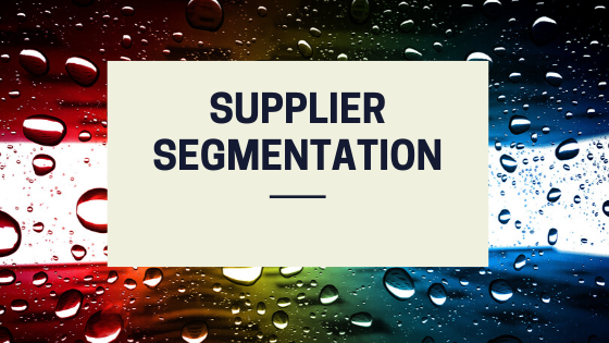 Supplier Segmentation