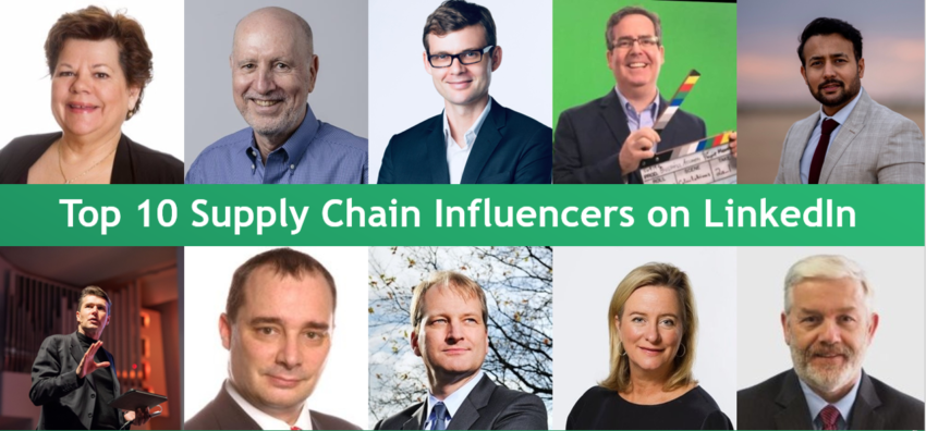 Top 10 Supply Chain Influencers on LinkedIn to Follow Today