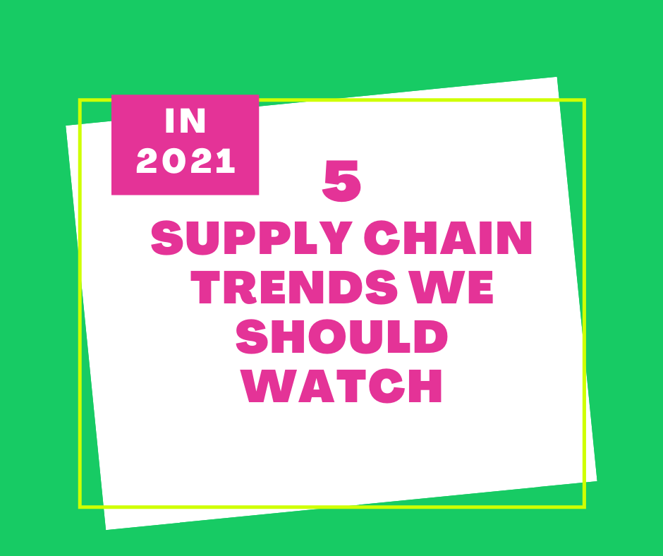 5 Supply Chain Trends We Should Watch in 2021