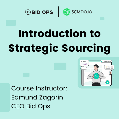 Introduction to Strategic Sourcing